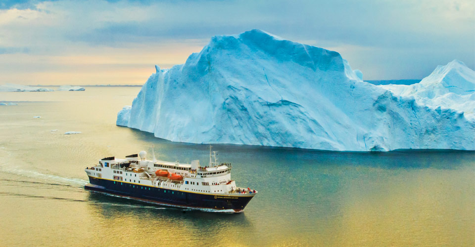 National Geographic Explorer, Disko Bay, Greenland