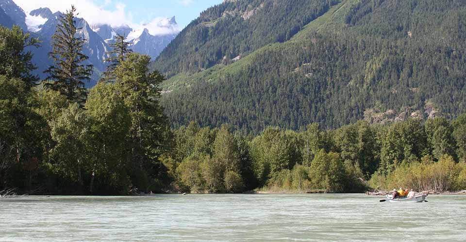 Bella Coola River, British Columbia