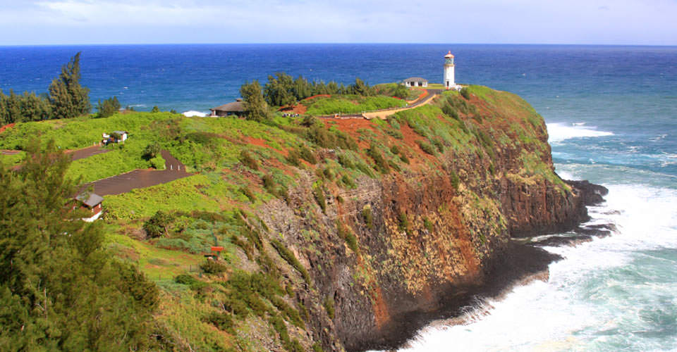 Kilauea Lighthouse, Kauai, Hawaii, USA