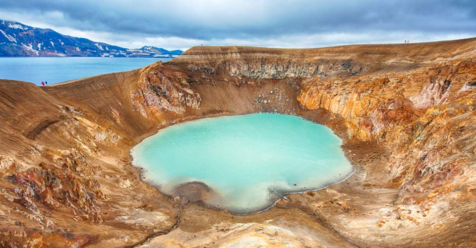 Askja Volcano, Central Highlands, Iceland