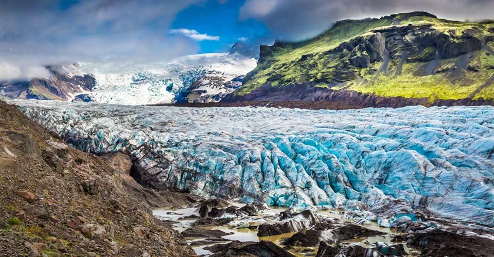 Vatnajokull Glacier, Vatnajokull National Park, Iceland