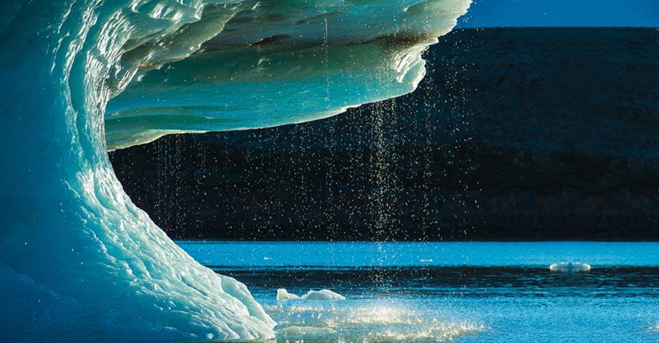 Iceberg, Scoresby Sound, Greenland