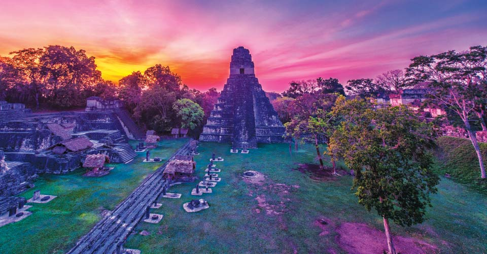 Belize to Tikal: Reefs, Rivers & Maya Ruins