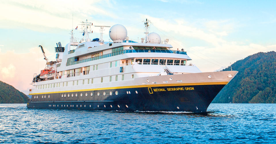 National Geographic Orion, South Pacific