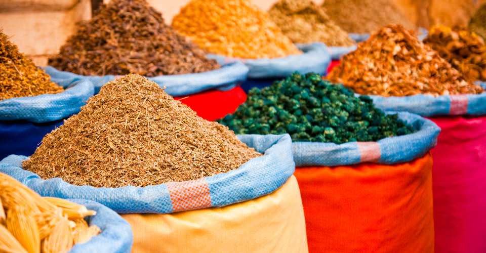 Local market, Marrakech, Morocco