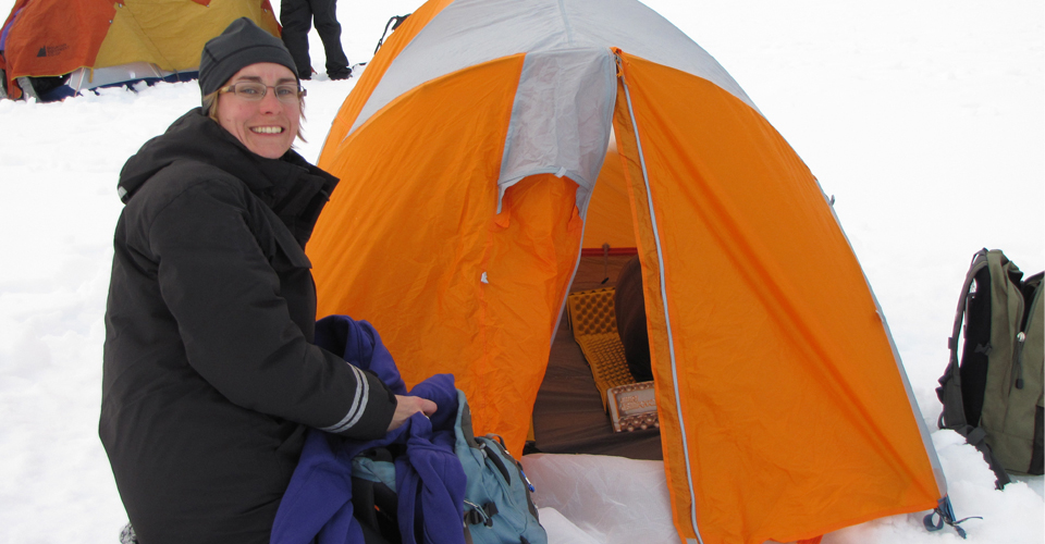 Overnight camp option, Antarctic Peninsula