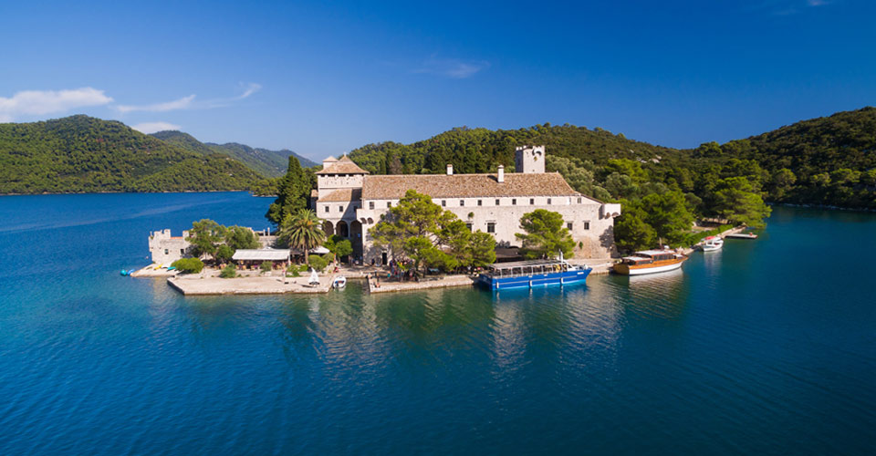 St. Mary Island, Mljet National Park, Croatia