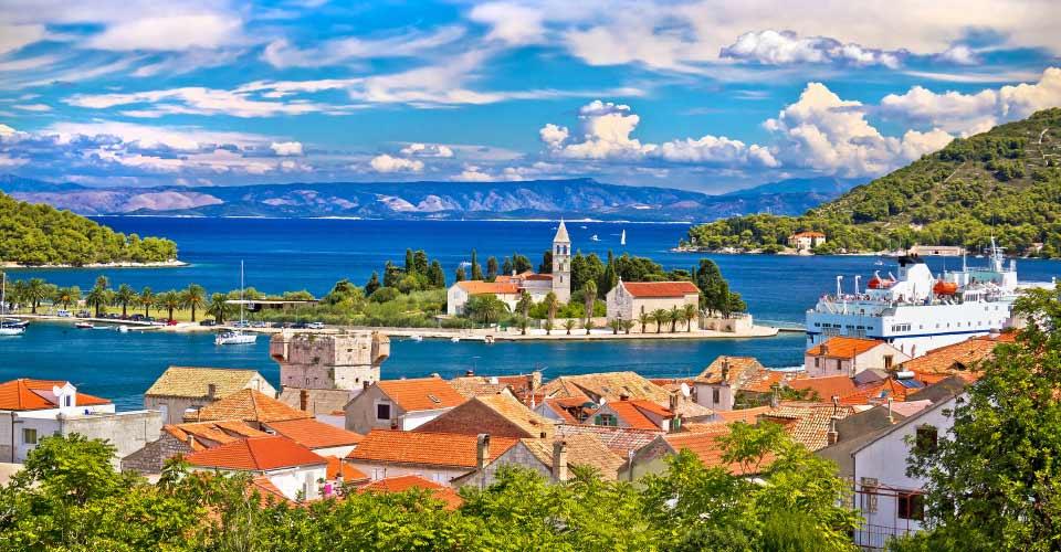 Island of Vis, Dalmatia, Croatia