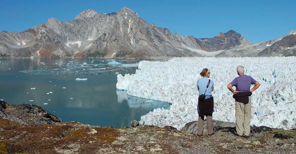Greenland Ice Cap, Amassslik Island, Greenland