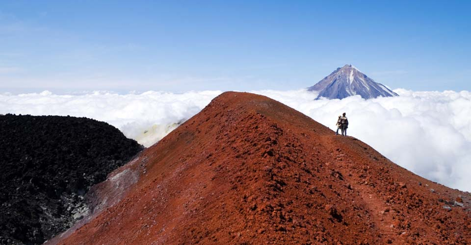 Avachinsky Volcano, Kamchatka, Russia's Far East