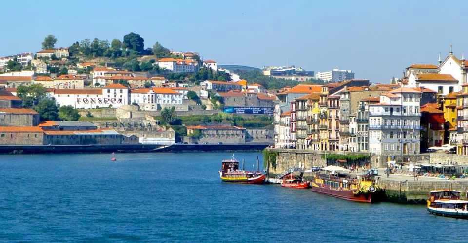 Ribeira Pier, Porto, Portugal