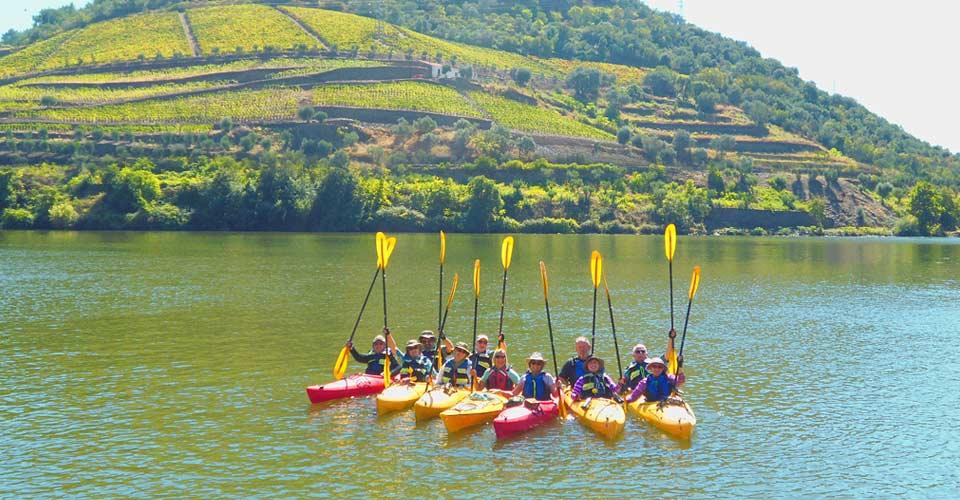Kayakers, Pinhao, Portugal