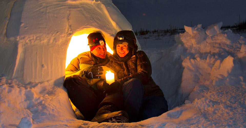 Igloo, Churchill, Manitoba, Canada