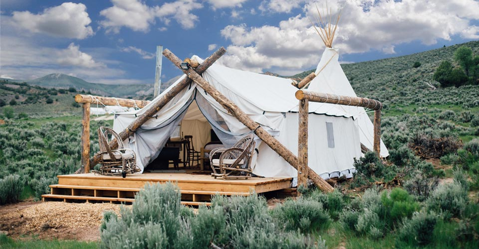 Private Yellowstone Safari Camp, Big Sky, Montana