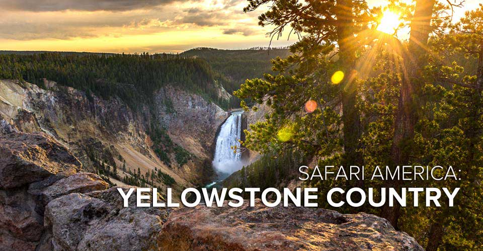 Upper Yellowstone Falls, Yellowstone National Park, Wyoming