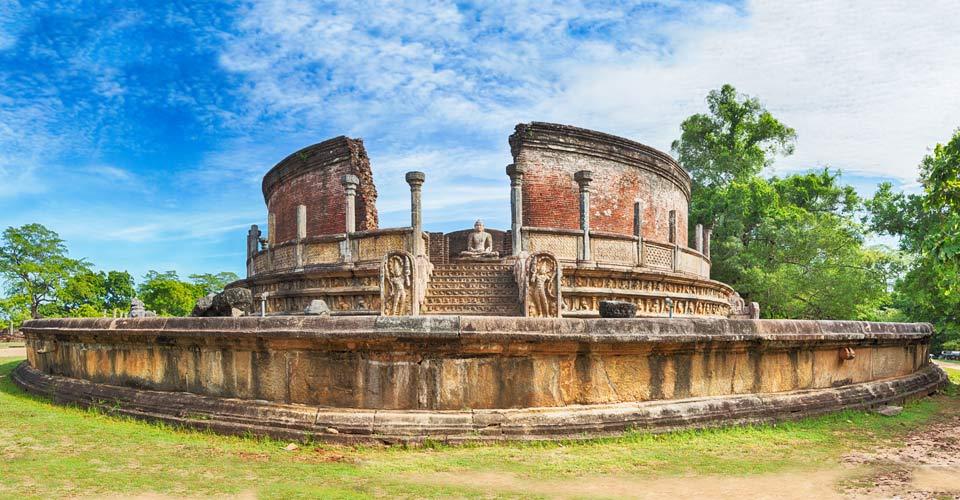 Polonnaruwa Vatadage, Polonnaruwa, Sri Lanka