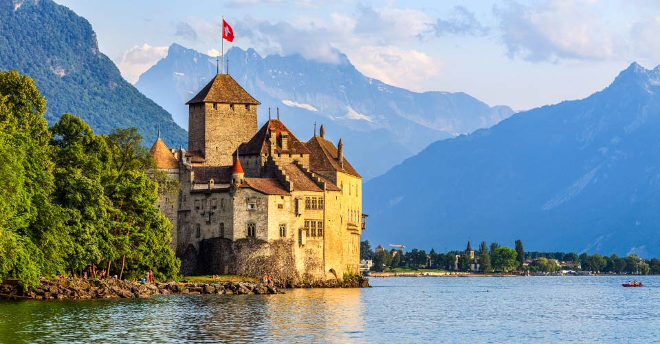 Chillon Castle, Montreux, Switzerland