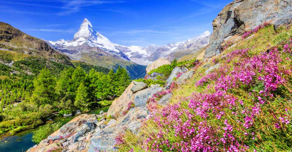 Matterhorn, Zermatt Valley, Switzerland