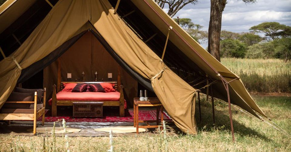 Natural Habitat Luxury Camp, Serengeti National Park, Tanzania