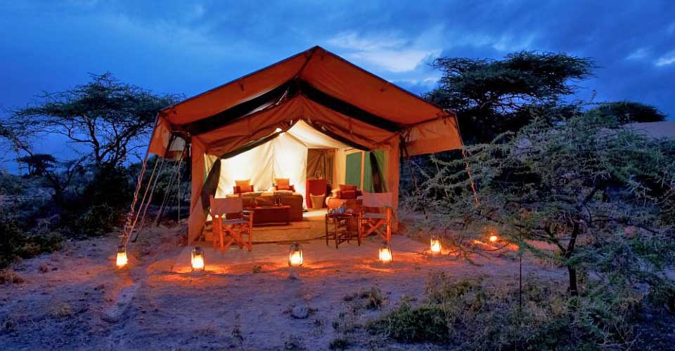 Migration Base Camp, Serengeti National Park, Tanzania