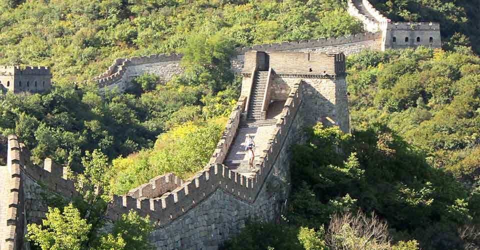 Great Wall, Huairou County, China