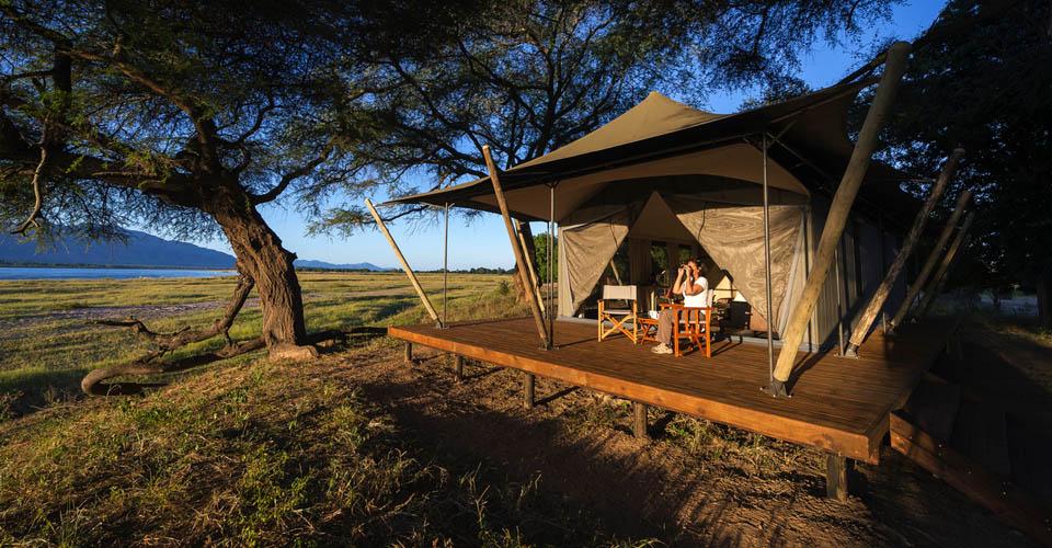 Ruckomechi Camp, Zambezi River, Zimbabwe