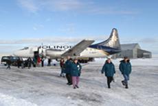 Churchill charter plane