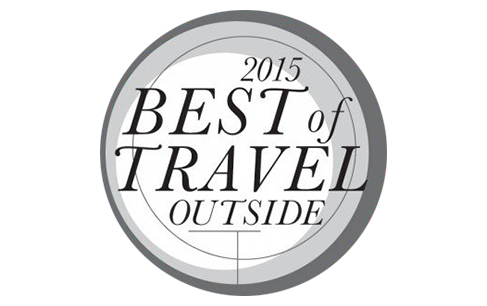 Outside Magazine Best of Travel 2015