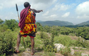 In the Footsteps of the Maasai