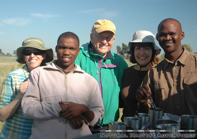 Happy Group at tea time - Vumbura Plains. Ollie and Go, which I'm pretty sure were the lead characters in Breakin' 2: Electric Boogaloo - totally unrelated.