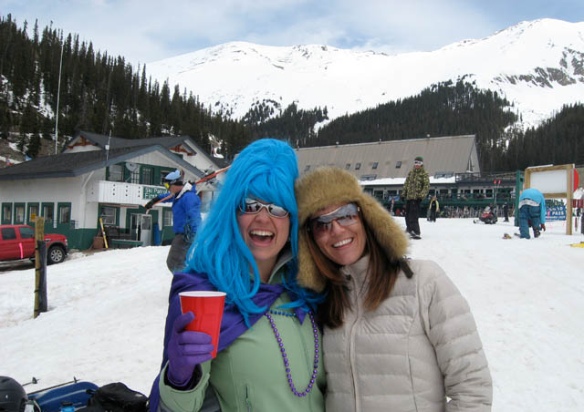 Winterfest 2009 at Arapahoe Basin in Colorado. Once a year, we take the day off for an office-wide ski trip and barbeque. This is one of the many reasons we love working at Nathab!