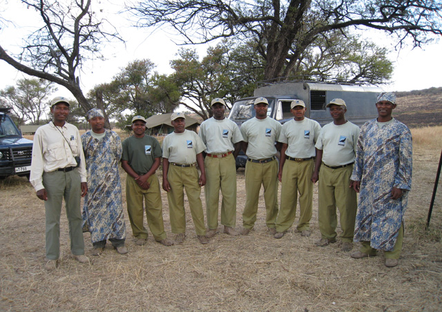 After just a few days, the crew at our private camp in the Serengeti felt like the best of friends.