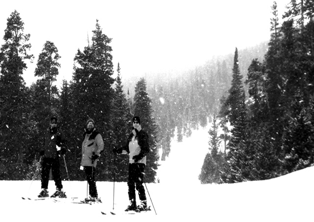 Skiing Eldora with my parents and their friends.
