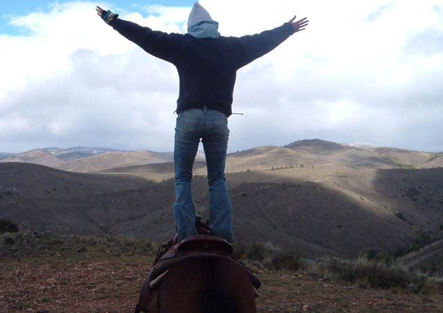 Working in Wyoming after graduating from college was such a highlight—we were lucky to ride horses in the backcountry as much as we liked. I even have a cowboy hat and boots to prove it! 2006