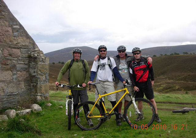 Here Ben takes a mountain bike trip through the Scottish Highlands with Don, NatHab's head of travel agent sales, Kent John, owner of the Great Alaska Adventure Lodge, and a guy named Mick who, believe it or not, rowed a boat across the Atlantic!