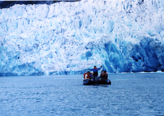 My very first trip with NHA was an expedition through Alaska's Inside Passage, from Seattle to Juneau. I'll never forget the awe inspiring sound of ice calving in Glacier Bay National Park!