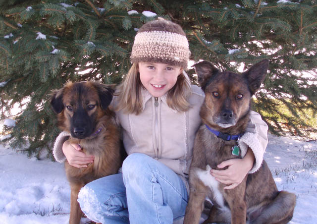 My kiddos – Lola, Gracie and Kona. These three keep me busy and make me happy!