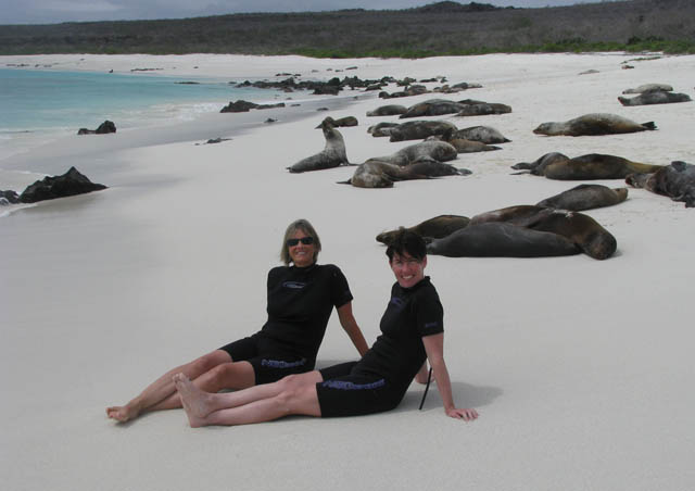 Lounging with the sea lions – Galapagos Islands