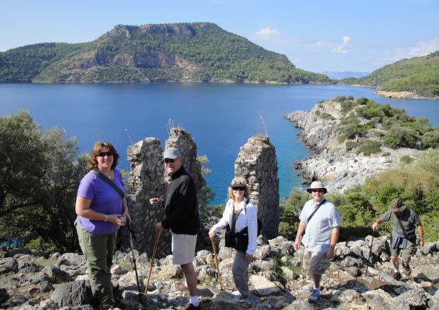 Hiking in Turkey