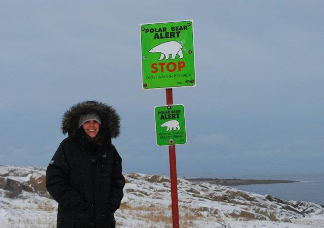 "In Churchill, Manitoba, the ""Polar Bear Capital of the World!"""