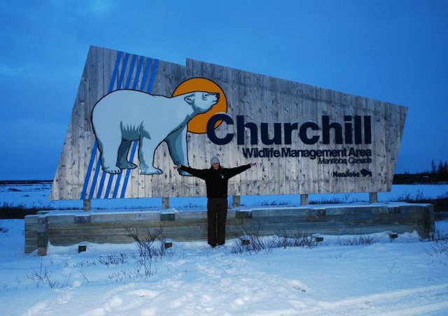 Exploring the tundra in Churchill