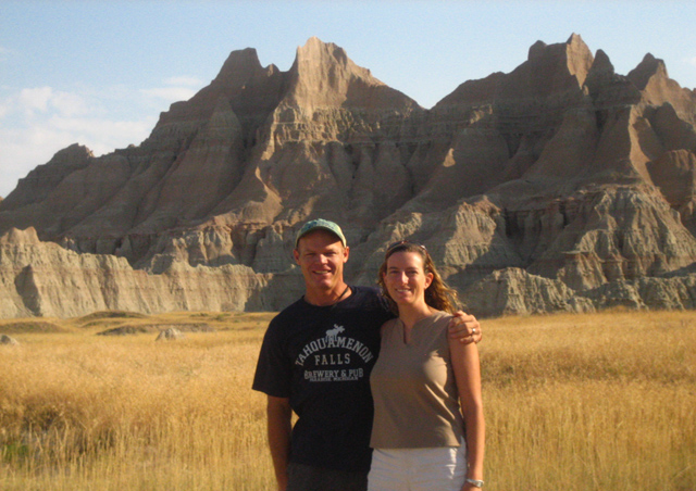 A quick stop to see the Badlands in South Dakota on our recent road trip to Michigan.