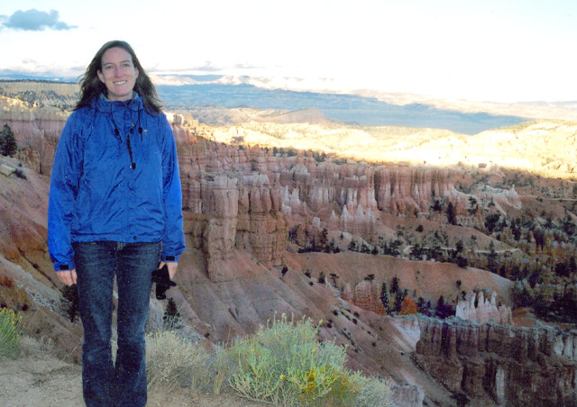 A hike at Bryce Canyon was a little chilly, but the views were spectacular!