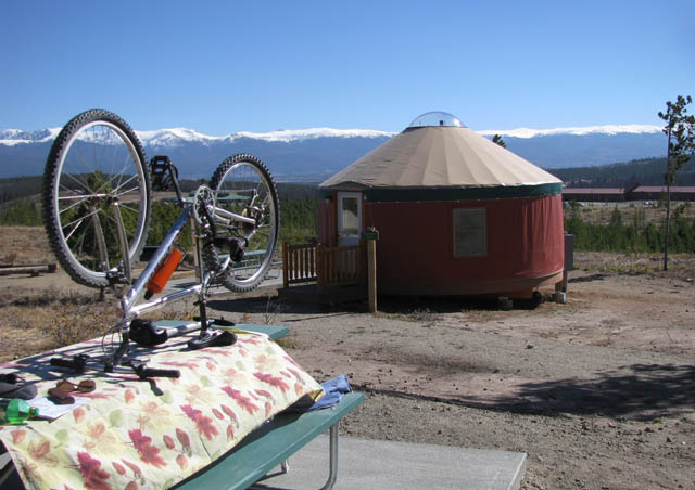 Adventure close to home – yurt camping near Winter Park, CO