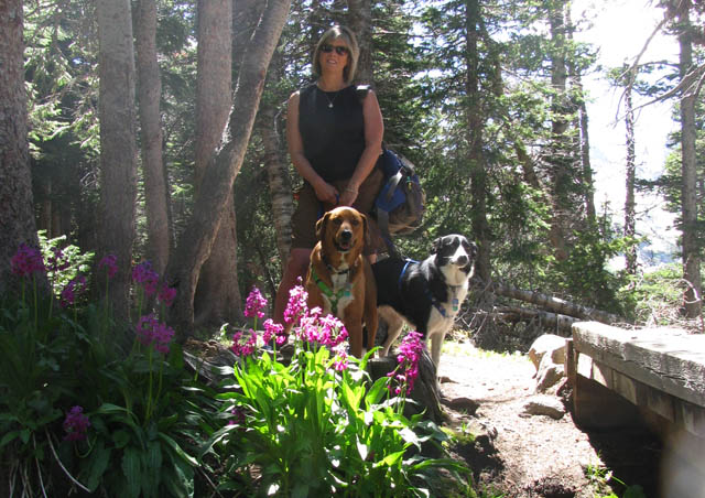 My favorite hiking buddies – Josie & Buddy