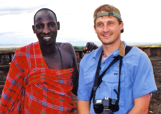 In addition to the amazing wildlife in Africa, I was able to meet the young leader of a Masaai village in Kenya.
