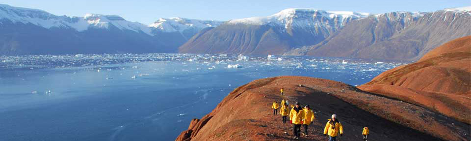 Active voyagers, Greenland expedition cruise